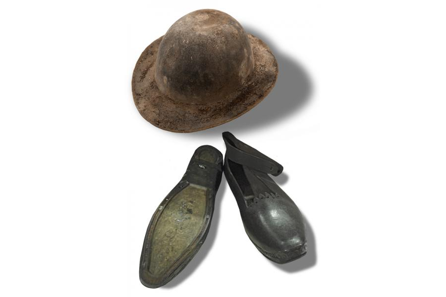 Miner's Hat and Balmaiden's Clogs